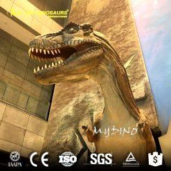 Fiberglass dinosaur gate 1