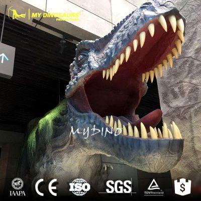 Fiberglass dinosaur gate