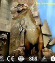 life size dinosaur sculpture