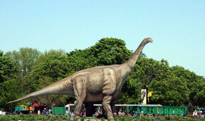 Dinosaur attractions
