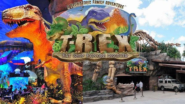 Amazing Dinosaur Themed Restaurants