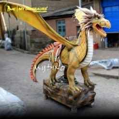 Animatronic Dragon Ride 1