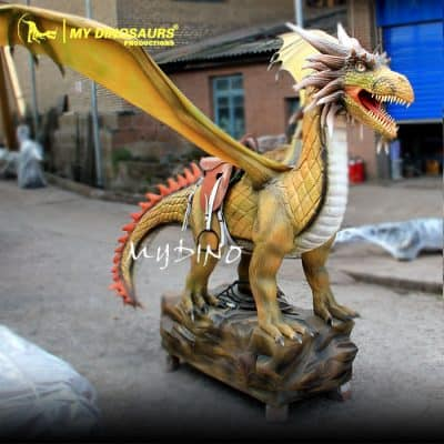Animatronic Dragon Ride 1