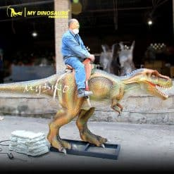 animatronic dinosaur ride 1