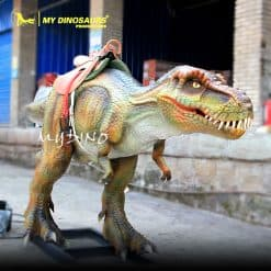 animatronic dinosaur ride