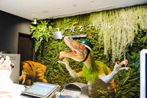 dinosaurs in hotel 14