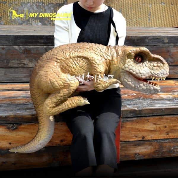 t rex dinosaur hand puppet 1