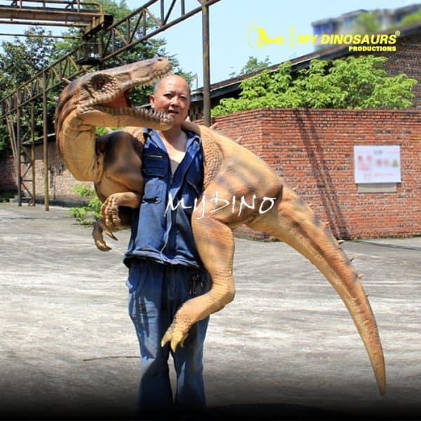 Dino shoulder puppet