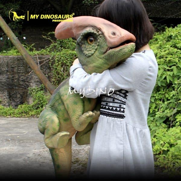Dinosaur puppet for preschool