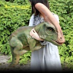 Make a dinosaur puppet