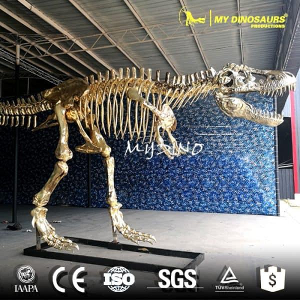 amusement park dinosaur skeleton