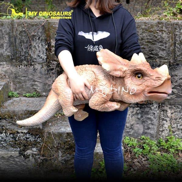 baby dinosaur hand puppet