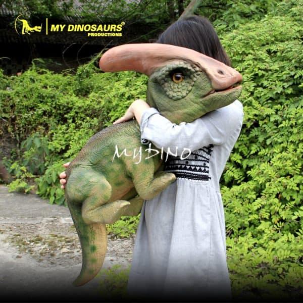 dinosaur baby puppet 1