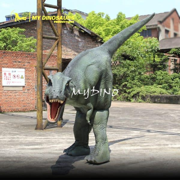 dinosaur costume hidden legs 1