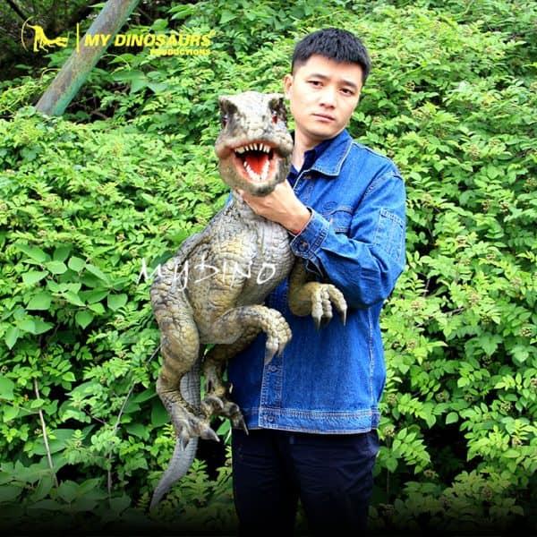 raptor hand puppet