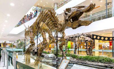 shopping mall dinosaur 5