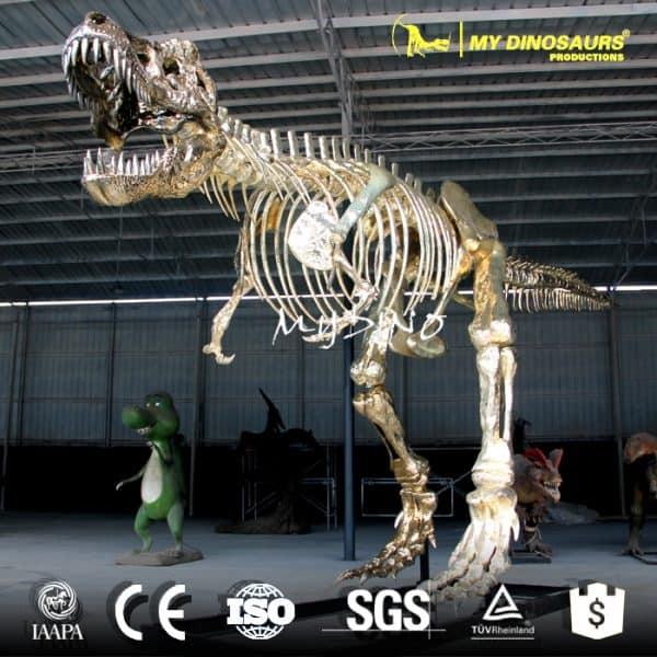 shopping mall dinosaur skeleton
