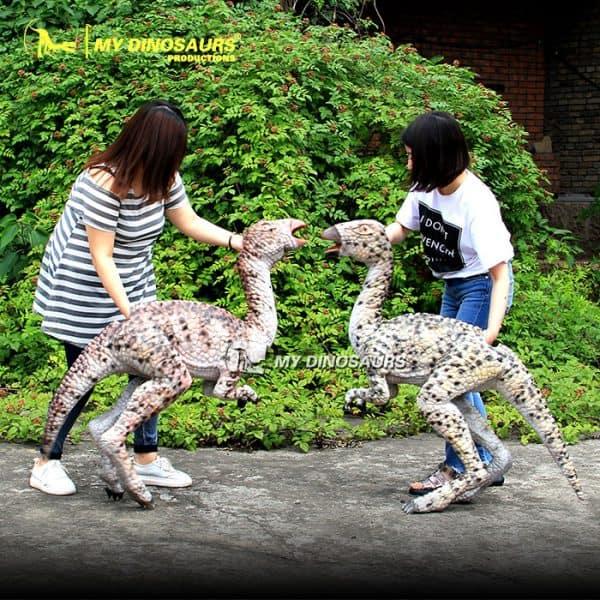 walking dinosaur puppet