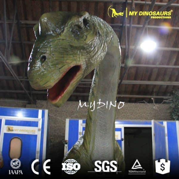 long neck dinosaur head