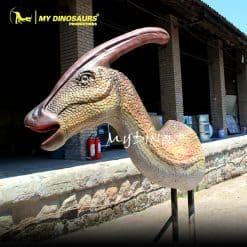 Parasaurolophus Head