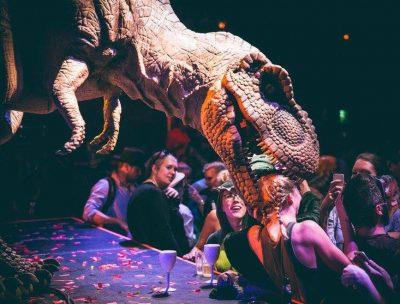 dinosaur costume why us
