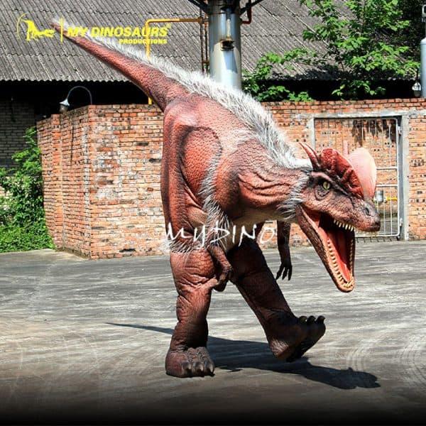 Walking dinosaur costume 1