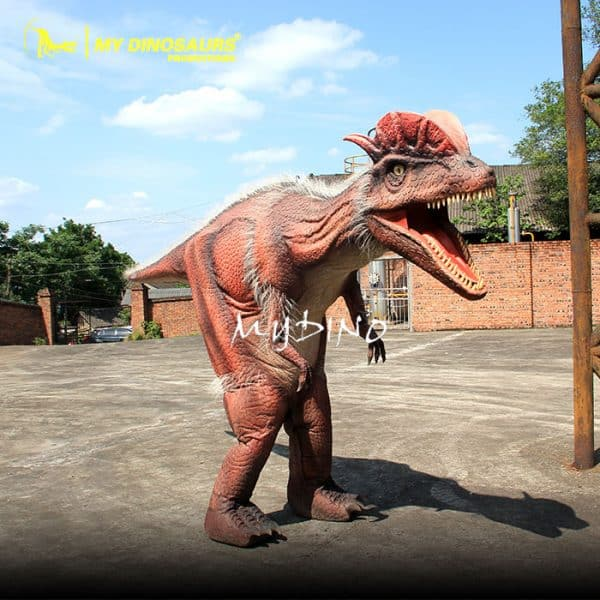 Walking dinosaur costume 3