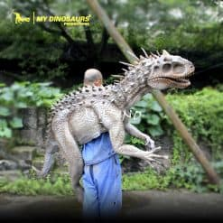 movie prop dinosaur puppet