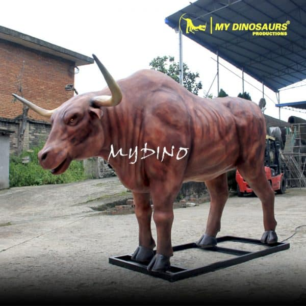 Animatronic cattle