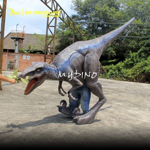 walking raptor costume