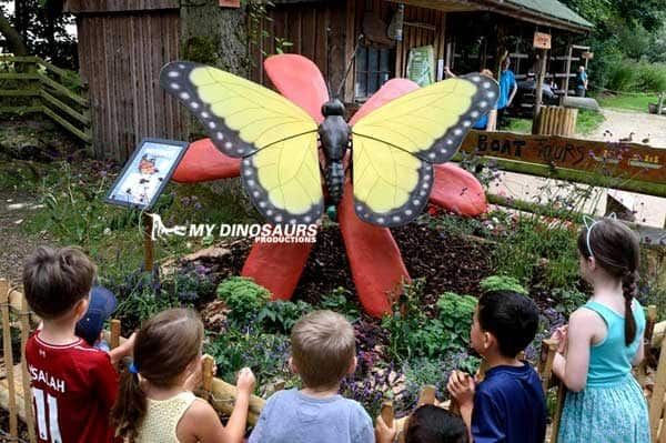 animatronic giant butterfly
