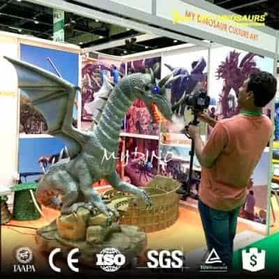life size animatronic dragon fly ADD027