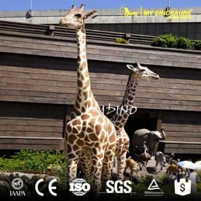 life size giraffe statue AA047