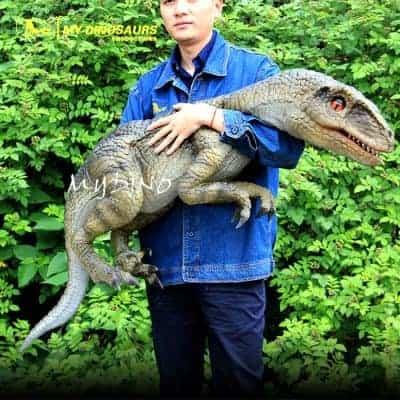 raptor hand puppet 2 DP090
