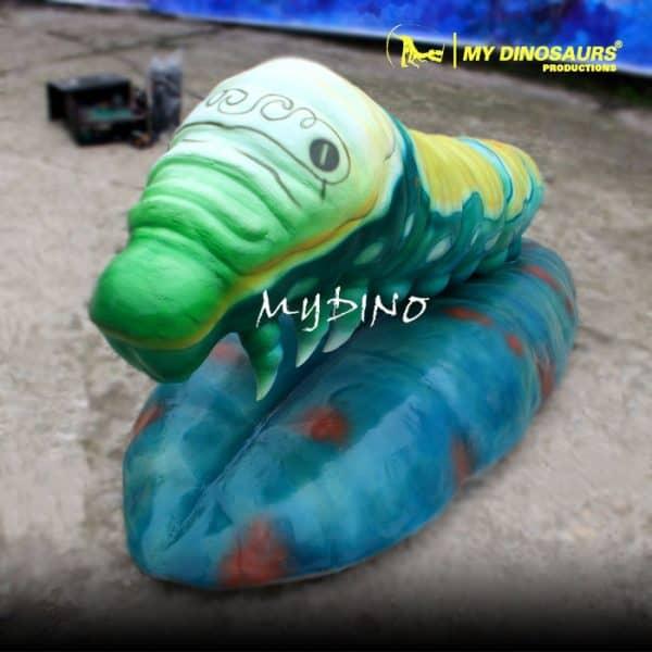 Animatronic insect caterpillar 1