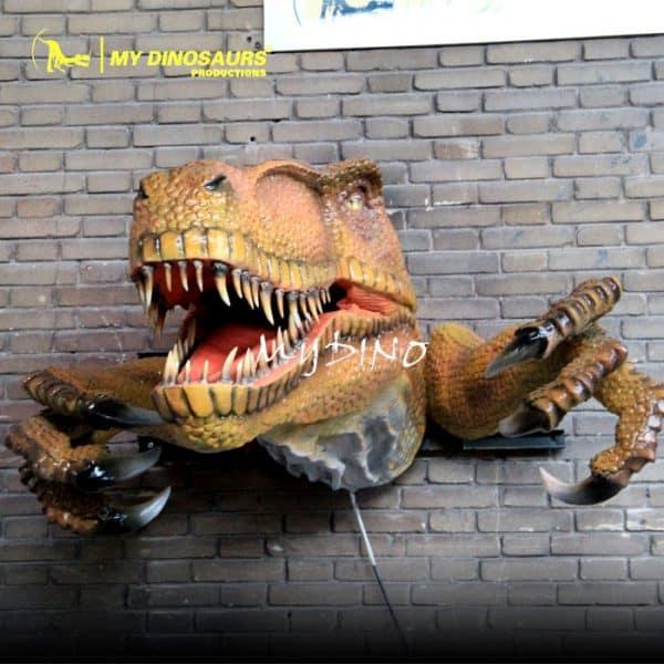 dinosaur head decoration