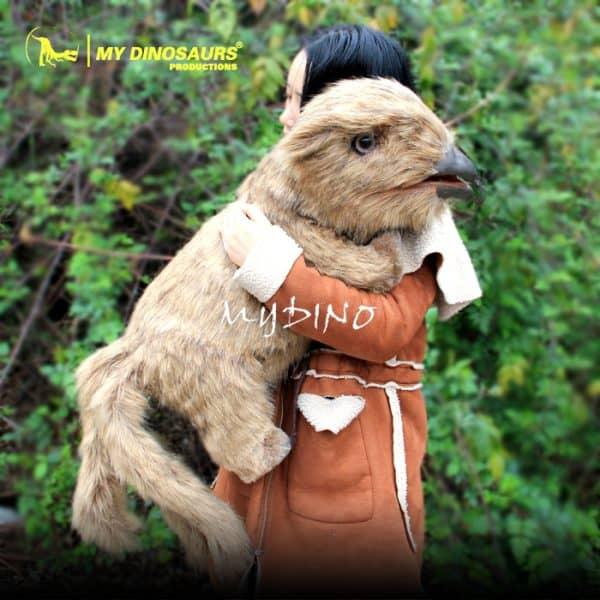 furry animal puppet