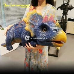 Baby triceratops puppet