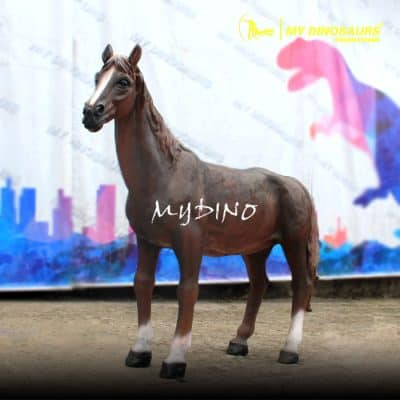 Fiberglass horse statue