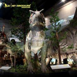Life Size Tyrannosaurus Model 1