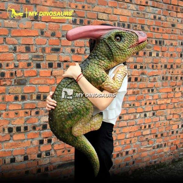 Parasaurolophus puppet 2