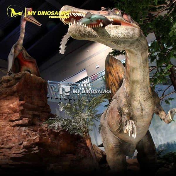 Spinosaurus vs Onchopristis 1
