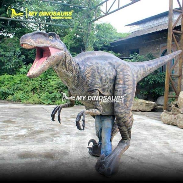 realistic dinosaur costume raptor 2