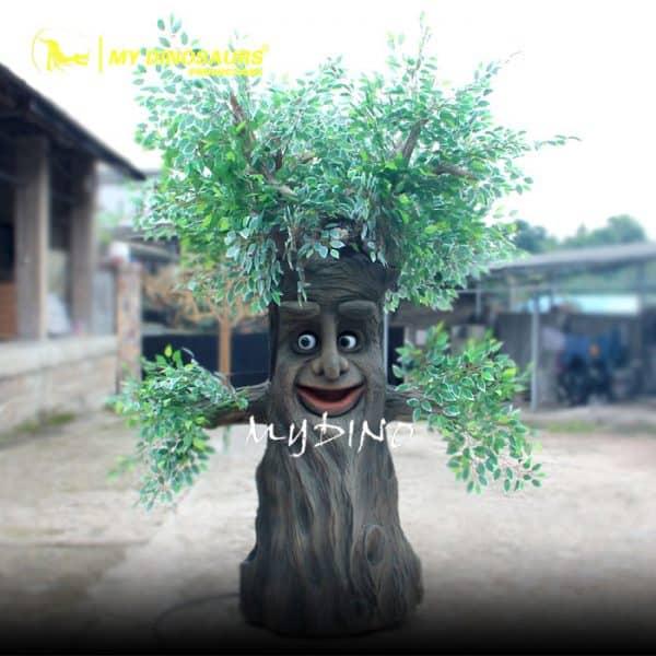 cartoon talking tree
