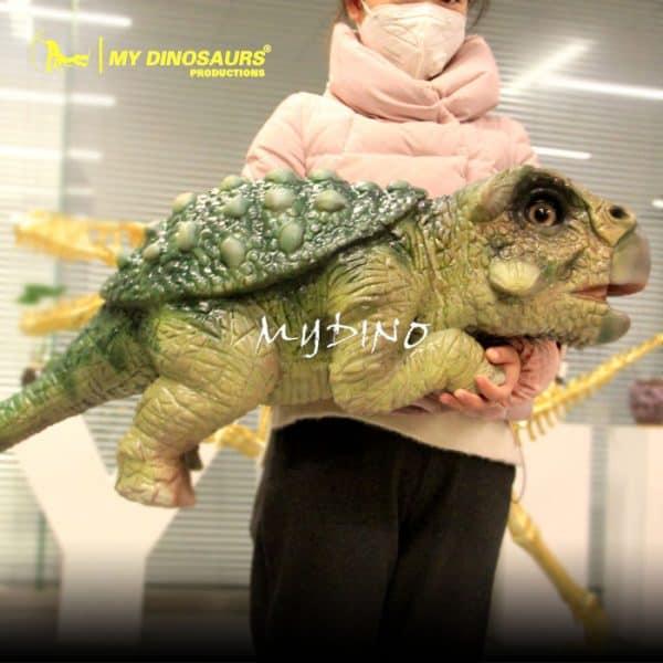 dinosaur hand puppet 1