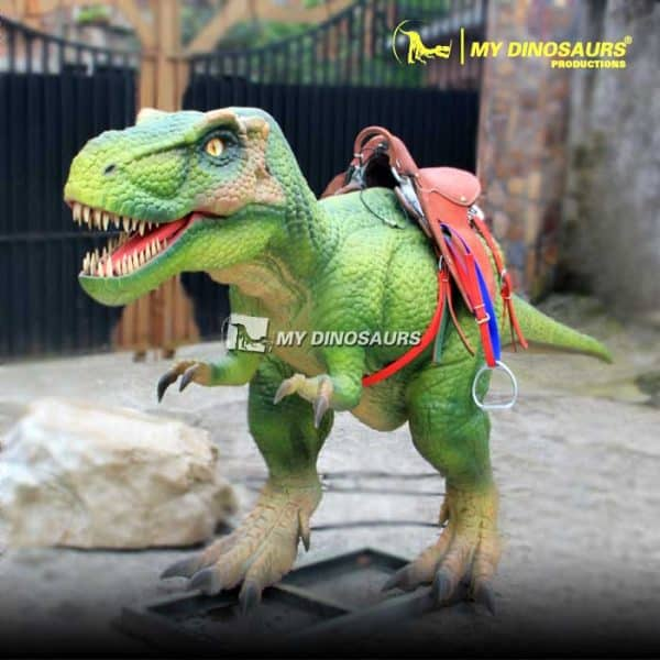 Coin operated dinosaur ride 1