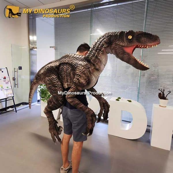 Raptor arms puppet 1