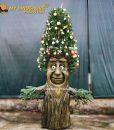 Christmas talking tree