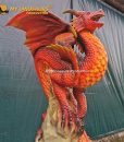 animatronic dragon fire