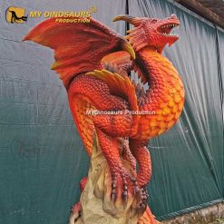 animatronic dragon fire